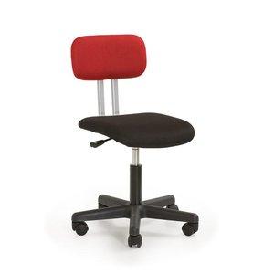 Anton skrivbordsstol - Svart/röd