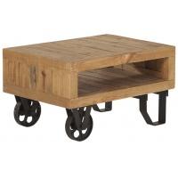 AW69 soffbord med hjul - Rustik