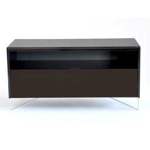 Julia TV-bänk 90 - svart högblank