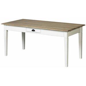 Isabell matbord rustikt antik vit - 180 cm