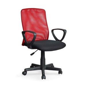 Alex skrivbordsstol - Svart/Röd