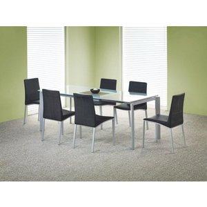 Kristian matbord utdragbart- Grå/Glas