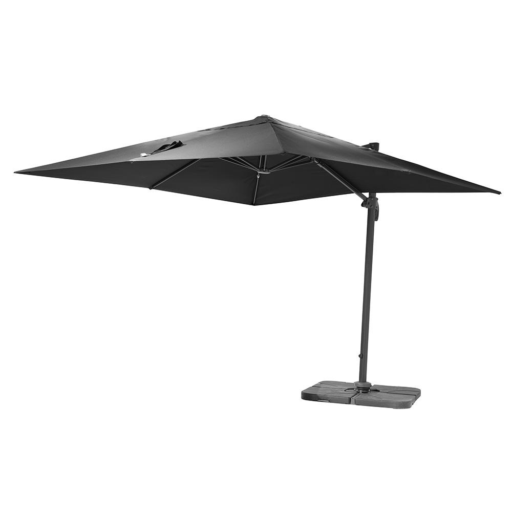 Parasoll Tobago - Grå - Fyrkantigt