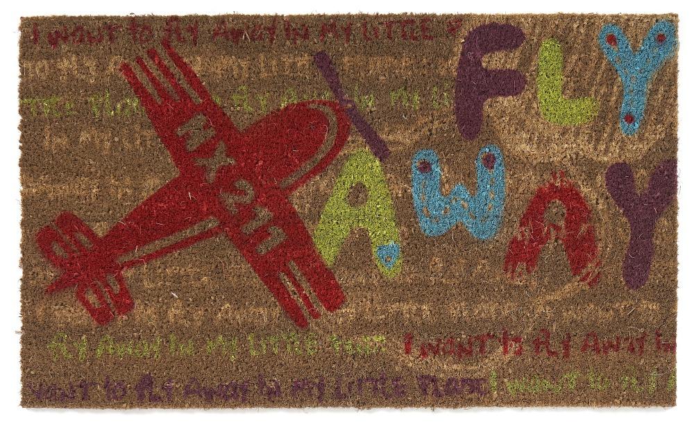 Dörrmatta Fly Away - Cocos - 45x75 cm