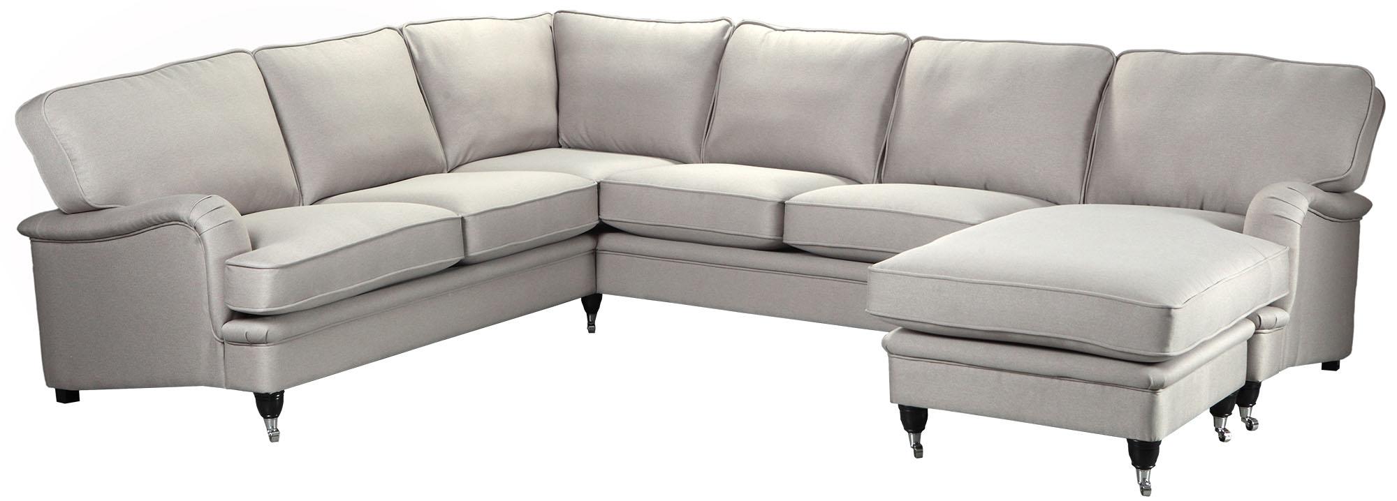 Howard Luxor hörnsoffa XL med divandel - Valfri färg!