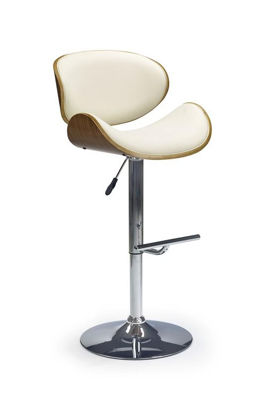 Tripod barstol - Krämfärgad