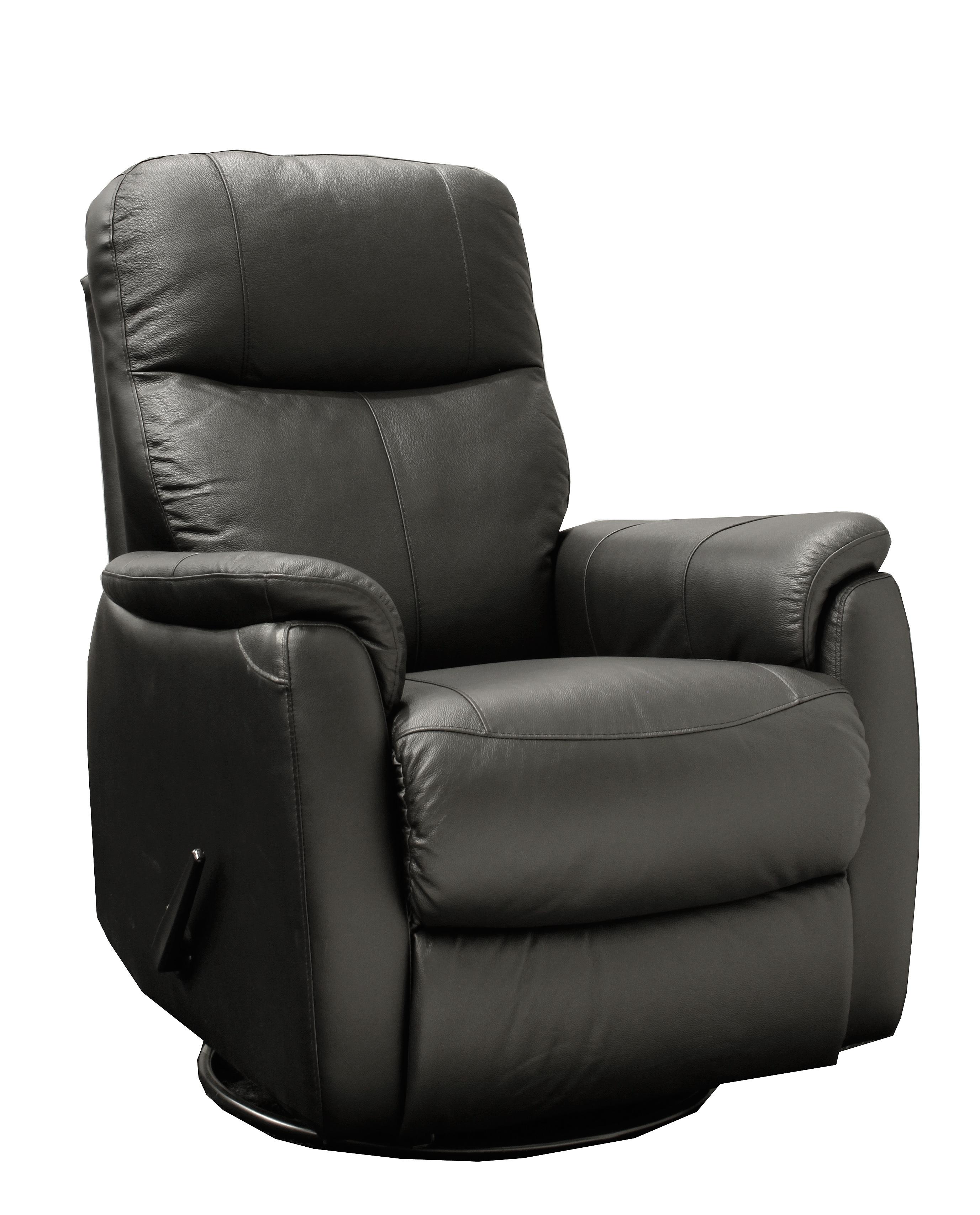 Jantzen reclinerfåtölj - svart konstskinn