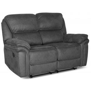 Riverdale recliner soffa 2-sits - Grå