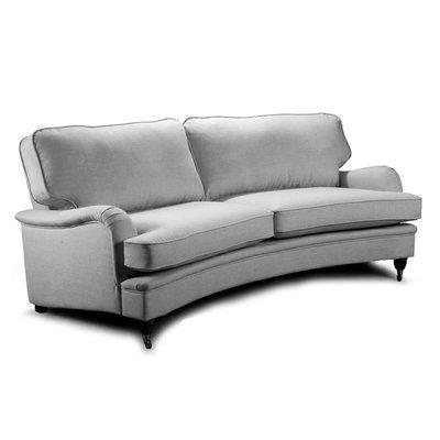 Howard Luxor svängd 4-sits soffa 240cm - Valfri färg