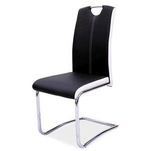 Nataly stol - Svart/krom
