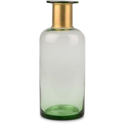 Vas Bottle - Grön/guld