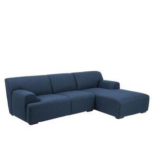 Clarksville soffa divan höger - Blå