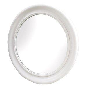 Classic rund spegel - Vit
