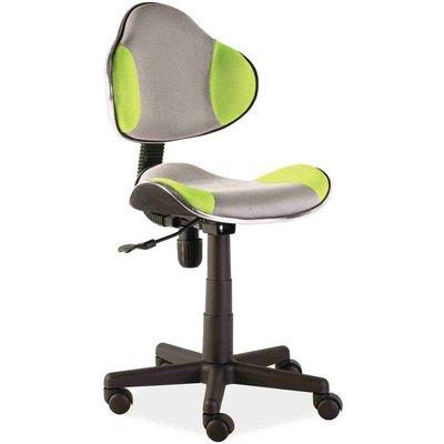Skrivbordsstol Carla - Grå/grön