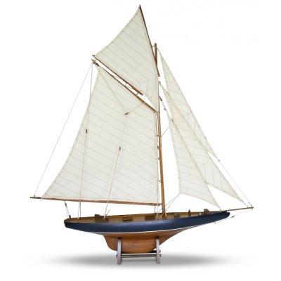 Old Sailor Modellbåt Columbia segelbåt - Mahogny