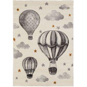Barnmatta Mitchell Luftballong - Grå/Vit
