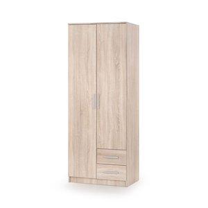 Abdel 2 garderob - Sonoma ek