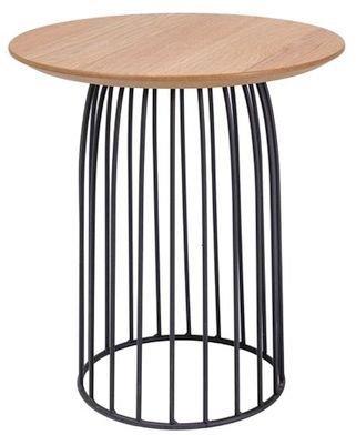 Soffbord Danna 40ø - Ek/svart