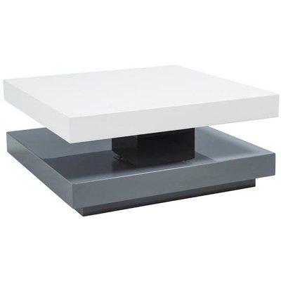 Soffbord Brittany - Vit/grå