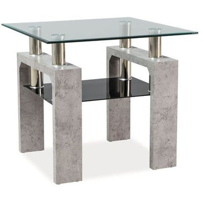 Soffbord Clemson - Betong grå
