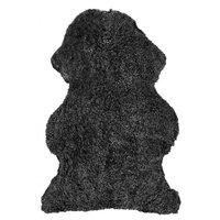 Curly fårskinn - 95x55 cm - Mörkgrå