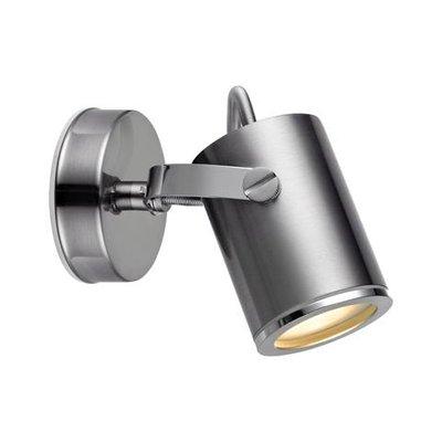 Lux Vägglampa - Stål