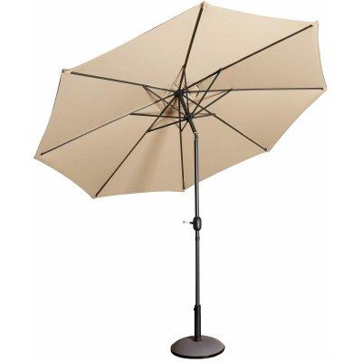 Parasoll Cali D300 cm i aluminium - Beige