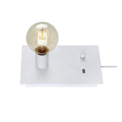 Load Bordslampa med USB - Vit
