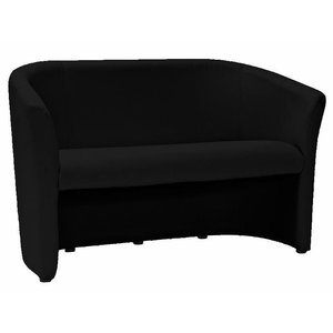 Lilyanna 2-sits soffa - Svart