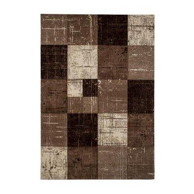 Maskinvävd matta Aversa - Nougat