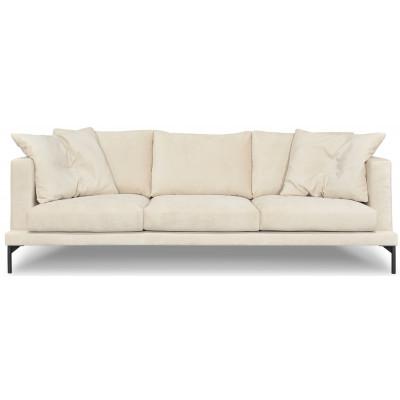 Davis 3-sits soffa - Beige (Chenilletyg)