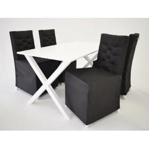 Matgrupp Brixton: Bord inklusive 4 st stolar