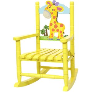Giraff gungstol - Gul