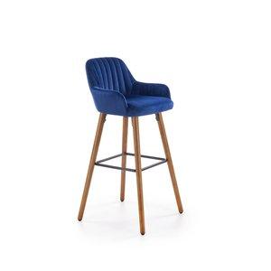 Wilfrid barstol - Blå