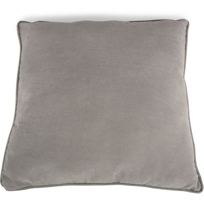 Kuddfodral sammet - Ljusgrå