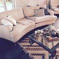 Howard Southampton XL svängd soffa 275 cm - Ljus beige