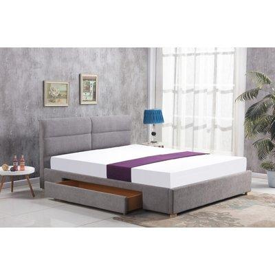 Thore säng med förvaring 160x200 cm - Grå (Chenille)