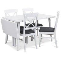 Dalsland matgrupp, Bord med klaff och 4 st Elisa matstolar