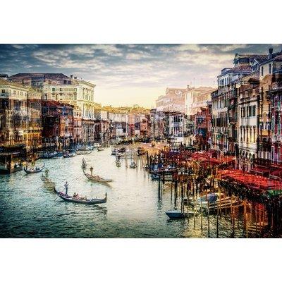 Glastavla Venice - 120x80 cm