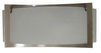 Bergen Vägglampa - Borstat stål