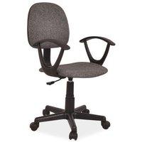 Skrivbordsstol Ivanna - Grå/svart