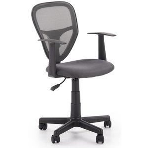 Ingolf skrivbordsstol för barn - Grå/svart