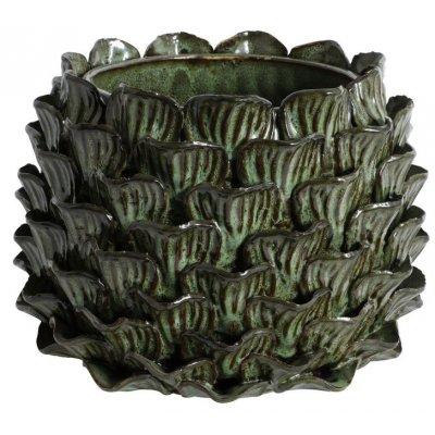 Vas Ester H18 cm - Grön