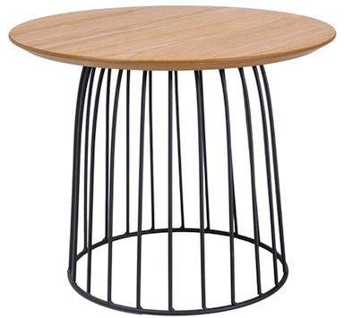 Soffbord Danna 50ø - Ek/svart