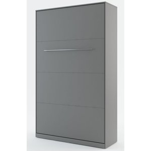 Sängskåp compact living Vertikalt (120x200 cm fällbar säng) - Grå