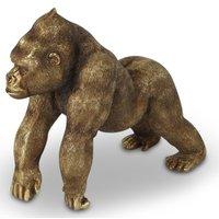 Gorilla figurin - Guld