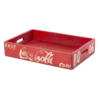 Coca Trälåda - Coca cola