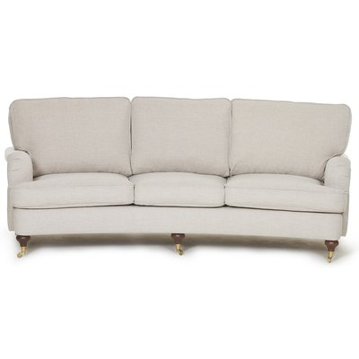 Howard Watford Deluxe 4-sits svängd soffa - Beige