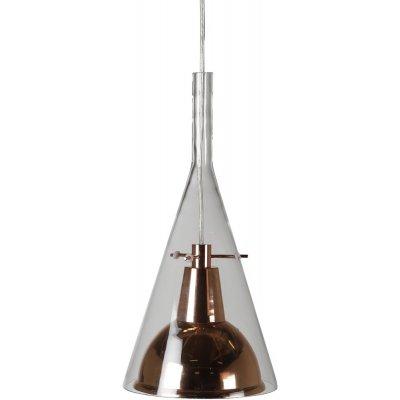 Malmen taklampa - Glas/kopparfärgad metall