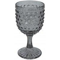 Bubbel vinglas (rökfärgat glas) 300ml - 6-pack